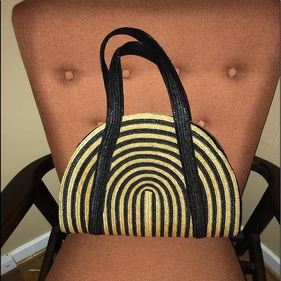 kate spade Handbags - Kate Spade Straw Handbag